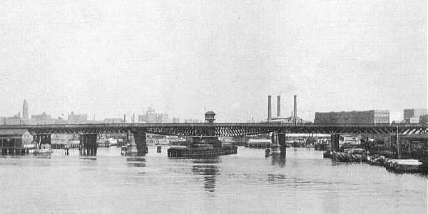 sydney's pyrmont swing bridge