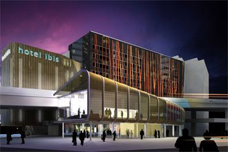 Ibis hotel at king street wharf